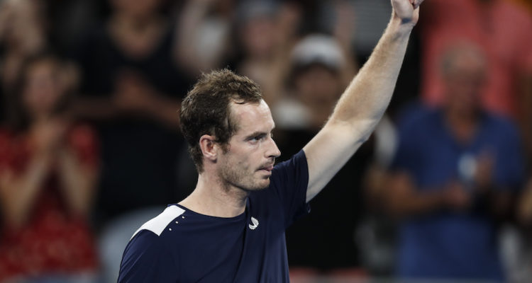 Andy Murray in the first round of the Australian Open 2019, Melbourne