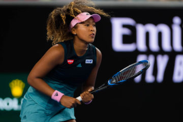 Naomi Osaka in the second round of the Australian Open 2019, Melbourne