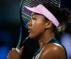 Naomi Osaka in the semi-final of the Australian Open 2019, Melbourne