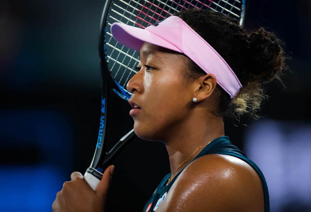Naomi Osaka in the semi-final of the Australian Open 2019, Melbourne