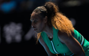 Serena Williams in the quarter-final of the Australian Open 2019, Melbourne