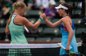 Bertens and Konta in the third round of the BNP Paribas Open, WTA Indian Wells 2019