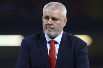 Wales' head coach Warren Gatland, Wales v Tonga Autumn internationals 2018