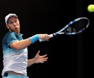 Dominic Inglot on Day Five of the Australian Open, Melbourne 2019