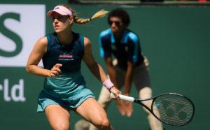 Angelique Kerber in the final of the BNP Paribas Open, WTA Indian Wells 2019