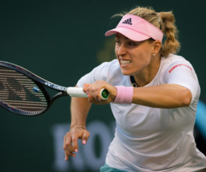 Angelique Kerber in the quarter-final of the BNP Paribas Open, WTA Indian Wells 2019