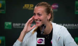 Petra Kvitova after the second round of the BNP Paribas Open, WTA Indian Wells 2019