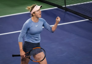Elina Svitolina in the semi-final of the BNP Paribas Open, WTA Indian Wells 2019