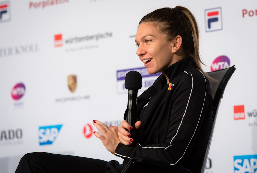 Simona Halep at the Porsche Tennis Grand Prix All Access, Stuttgart 2019