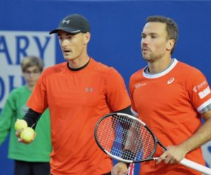 Jamie Murray & Bruno Soares in the quarter-final of ATP Barcelona, Spain 2019