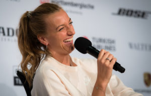 Petra Kvitova at the Porsche Tennis Grand Prix All Access, Stuttgart 2019