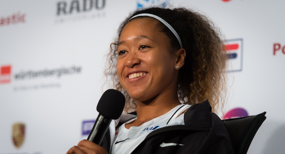 Naomi Osaka in All Access at the Porsche Tennis Grand Prix, Stuttgart 2019