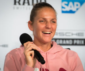 Karolina Pliskova at the Porsche Tennis Grand Prix All Access, Stuttgart 2019