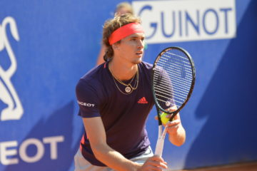 Alexander Zverev in the second round of ATP Barcelona, Spain 2019