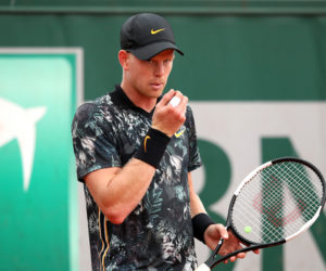 Kyle Edmund in the second round of Roland Garros 2019, France