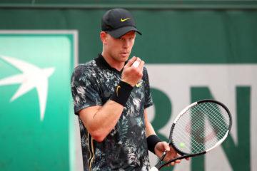 Kyle Edmund in the second round of Roland Garros 2019, France