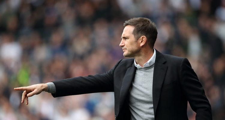 Frank Lampard during the Championship match between Derby County and West Bromwich Albion, 2019