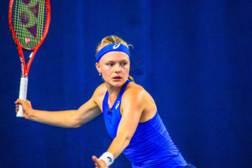 Harriet Dart on Day 3 of the Nature Vally Open, Nottingham 2019