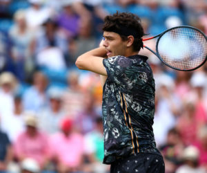 Taylor Fritz in Day Three of the Nature Valley International, Eastbourne 2019