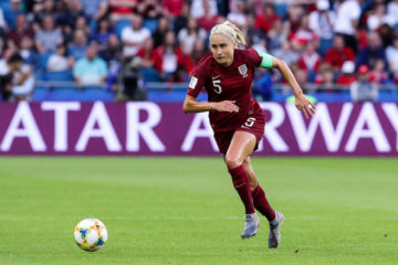 Steph Houghton in the FIFA Women's World Cup match between England & Argentina, France 2019
