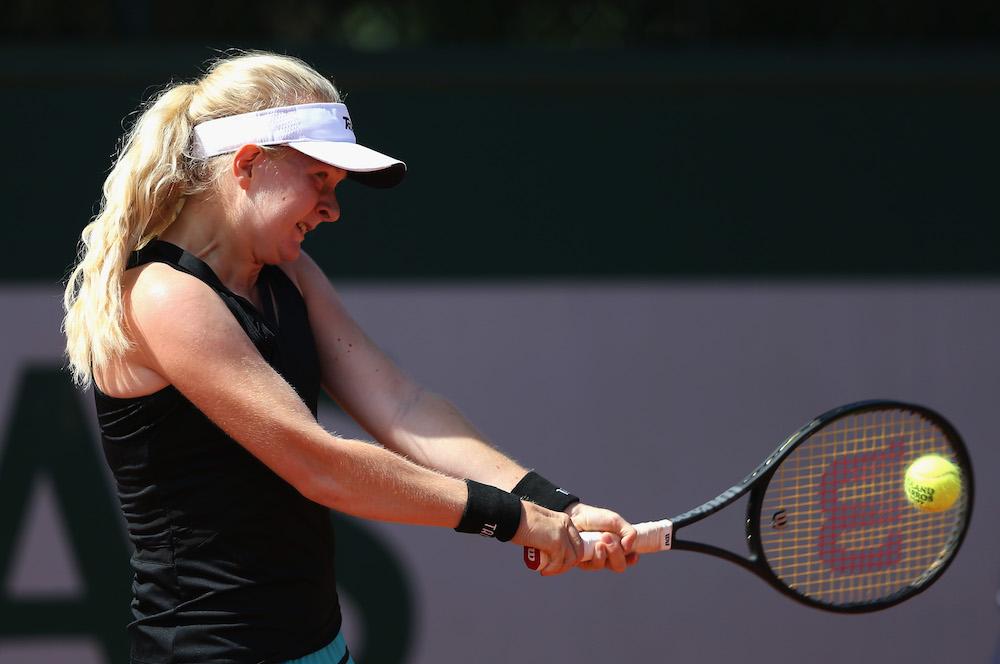 Francesca Jones Roland Garros 2017