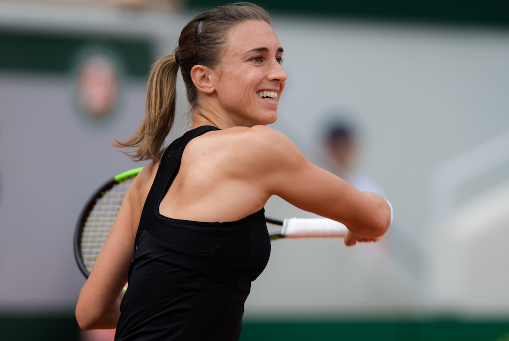 Petra Martic in the third round of Roland Garros 2019, France