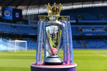 Premier League Trophy MCIHUD 2019