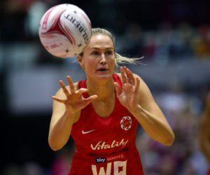 Chelsea Pitman, England Vitality Roses, Netball Quad Series 2019