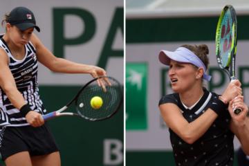Roland Garros 2019 Women's Finalists Ashleigh Barty and Marketa Vondrousova