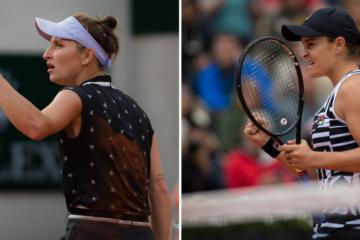 Roland Garros 2019 Finalists Ashleigh Barty and Marketa Vondrousova