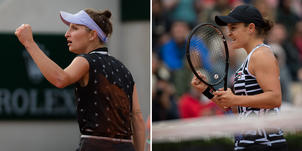 Roland Garros 2019 Finalists Ashleigh Barty and Marketa Vondrousova