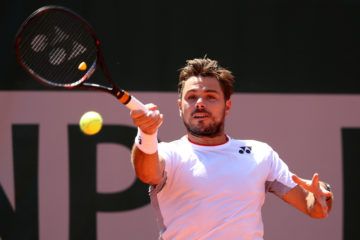 Stan Wawrinka in the third round of Roland Garros 2019, France