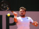 Stan Wawrinka in the third round of Roland Garros 2019, France
