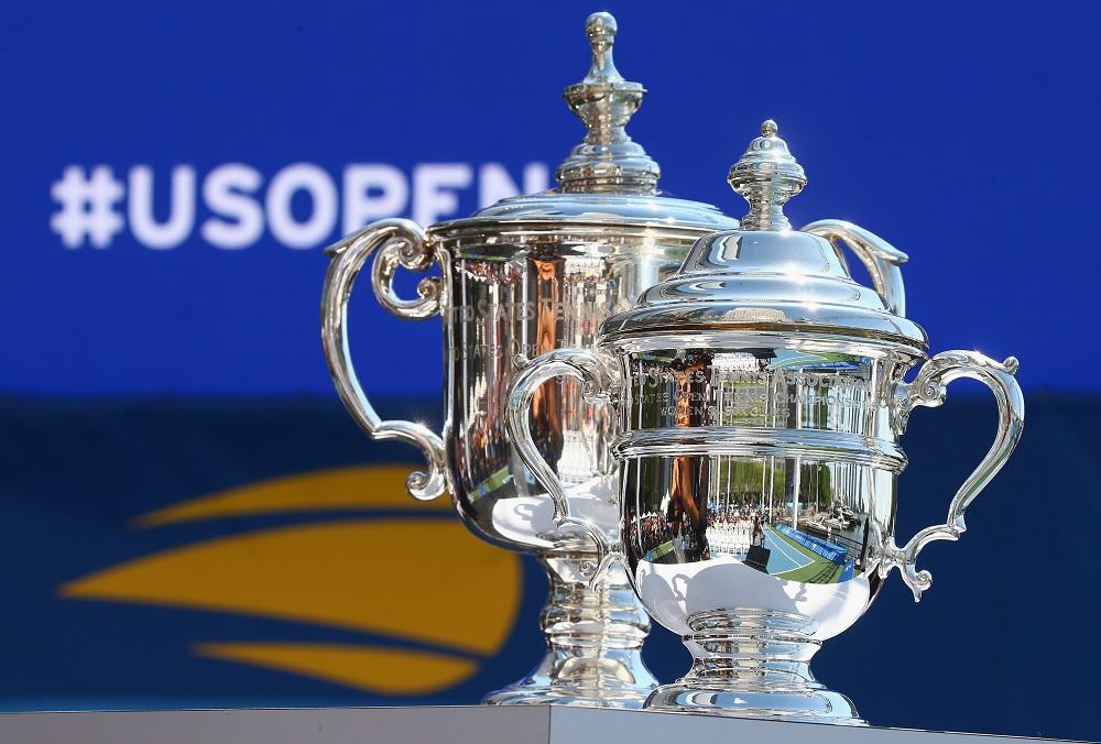 US Open Singles Trophies
