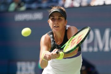 Belinda Bencic in the quarter-final of the US Open 2019, New York USA