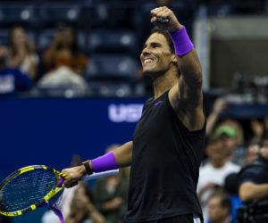 Rafael Nadal in the semi-final of the US Open 2019, New York