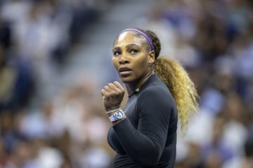 Serena Williams in the quarter-final of the US Open 2019, New York USA