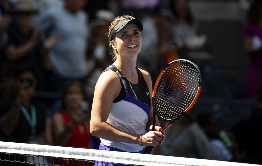 Elina Svitolina in the quarter-final of the US Open 2019, New York USA