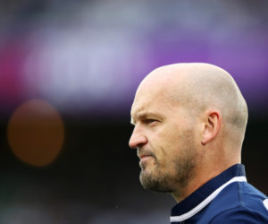 Gregor Townsend at the 2019 Rugby World Cup, Japan