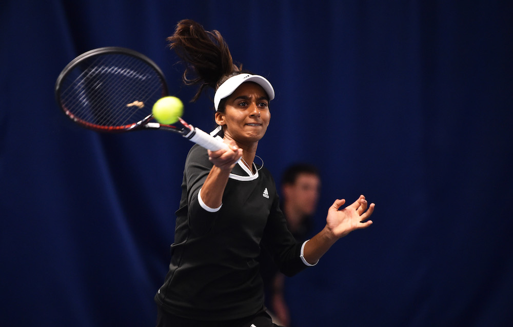 Naiktha Bains at the Nature Valley Open, Nottingham 2019