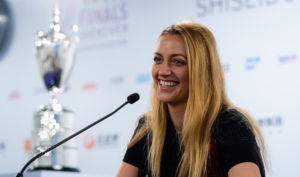 Petra Kvitova at the Media All Access Hour, WTA Finals 2019, Shenzhen