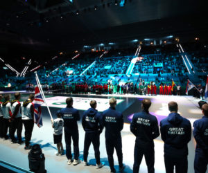 Great Britain and crowds at the 2019 Davis Cup Finals in Madrid, 2019