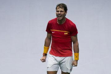 Rafael Nadal at the 2019 Davis Cup Finals, Madrid