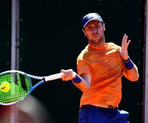 Luke Bambridge in the Mixed Doubles at Roland Garros 2019, Paris, France