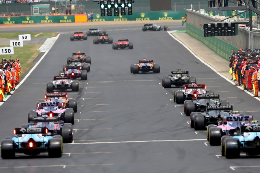F1 Grand Prix of Great Britain | (Photo by Charles Coates/Getty Images)