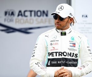 Lewis Hamilton ahead of the Australian GP 2020 | (Photo by Quinn Rooney/Getty Images)