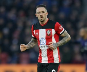 Danny Ings in the FA Cup Fourth Round between Southampton & Tottenham Hotspur, 2020