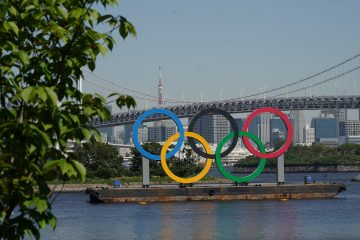 Tokyo 2020 Olympic Rings by day