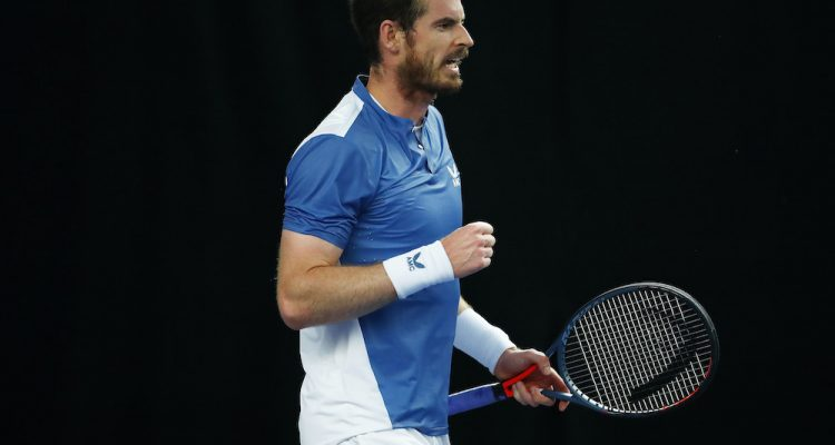Andy Murray on Day Two of the Schroders Battle of the Brits in London, UK
