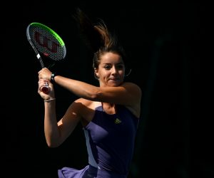 Jodie Burrage in the LTA British Tour 2020, London